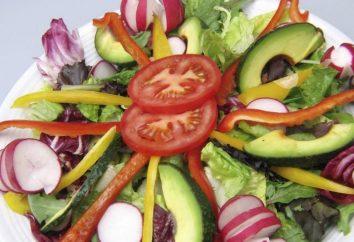 Odpowiednio przygotowując sałatki warzywne na odchudzanie!