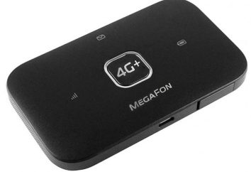 "Charakterystyka techniczna routera mobilnego ""Megafon"""
