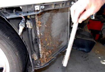 Jak jest czyszczenie chłodnicy samochodu?