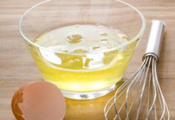 Les blancs d'œufs dans une bouteille: les avantages, la commodité et de