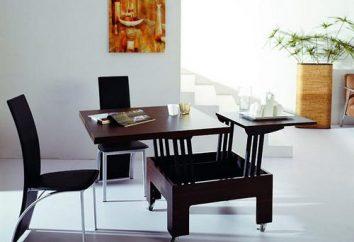 Transformateurs de tables compactes et spacieux