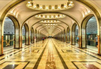 E ti chiedi, qual è la profondità media delle stazioni della metropolitana di Mosca?