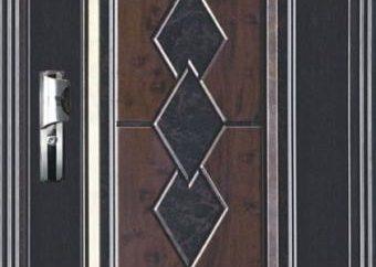portes métalliques isolées
