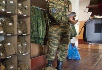 Carta di servizio interno per la salute e l'aspetto del complesso militare