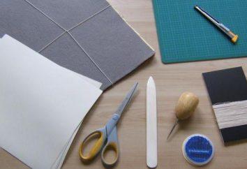 Come cucire un diario di bordo?