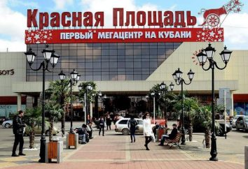 "Negozi moderni: ""Piazza Rossa"" (Krasnodar). Shopping per tutta la famiglia"