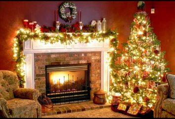 Como decorar um quarto com uma guirlanda? Como decorar uma sala com enfeites para o Ano Novo