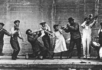 New Orleans jazz: história, artistas. Música de jazz