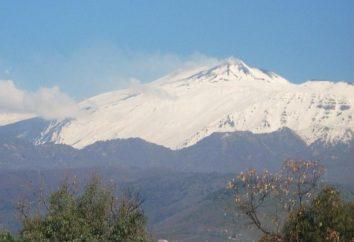 Mont Etna – beauté et force terrible
