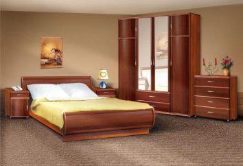 Comment arranger les meubles dans la chambre? taille de la chambre. ensemble de chambre à coucher