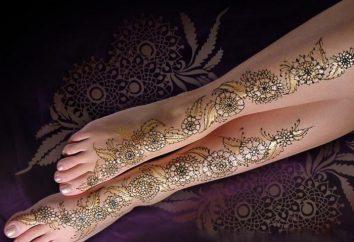 Przydatne do henny tatuaż: gdzie kupić? Jak narysować?