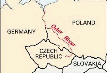 Il fiume Oder – corso d'acqua in Europa occidentale