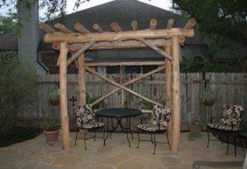 meble ogrodowe własnymi rękami wykonane z drewna jako niezbędny atrybut ogrodzie