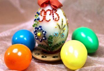 des oeufs de Pâques de perles – le meilleur cadeau de vacances