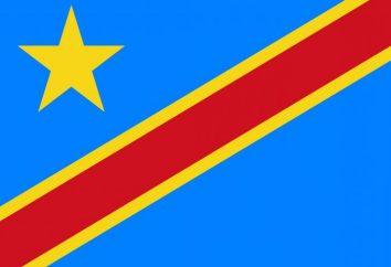 Repubblica Democratica del Congo bandiera, la capitale, l'ambasciata nella Federazione Russa