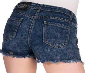 Wie man Shorts Jeans mit den Händen machen. Erstellen Sie neue Produkte aus alten Sachen