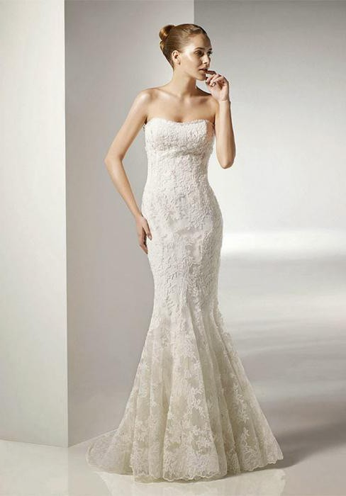 Einfache Brautkleider: Typen und geeignete Fälle