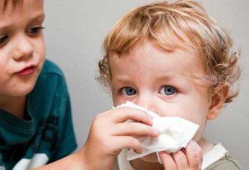 środki folk na przeziębienie dla dzieci. Leczenie przeziębienia u dzieci domowych środków ludowej