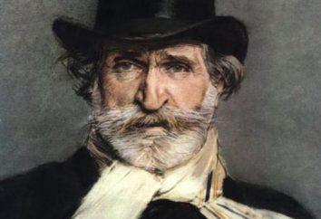 Compositeur italien Verdi Giuseppe: biographie, créativité et histoire de la vie