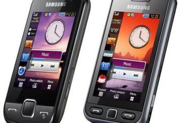 """Telefon """"Samsung"""": liderzy sensoryczne popularność mobilnych"""