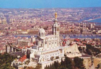 Marseille, Frankreich. Südfrankreich, Stadt. Marseille – eine Stadt in Frankreich