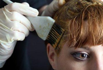 Coloration des cheveux: la technologie de teinture des cheveux gris