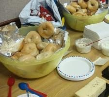 Comment préparer des plats pour une table de buffet