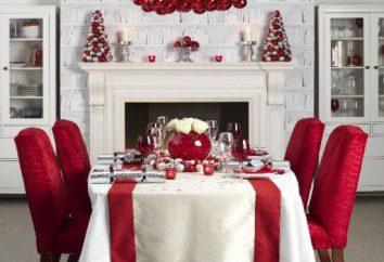 Oryginalny i pięknie udekorowany stół Boże Narodzenie z rękami: opis, pomysły i zalecenia