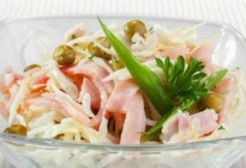 Salade « Dniestr »: description et options pour la préparation des repas
