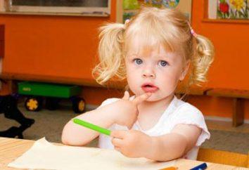 aulas de desenvolvimento complexas para crianças de 2 anos