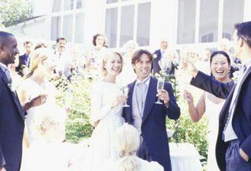 Congratulazioni al matrimonio giovane