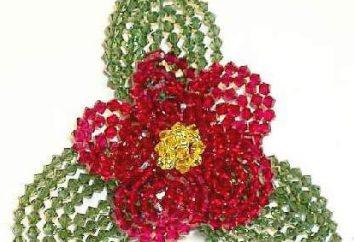Wie man Perle Blumen zur Dekoration oder als separates Produkt machen