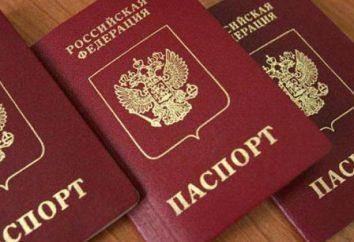 documentos de identidade dos cidadãos da Federação Russa. A lista de documentos dos cidadãos da Federação Russa de identificação
