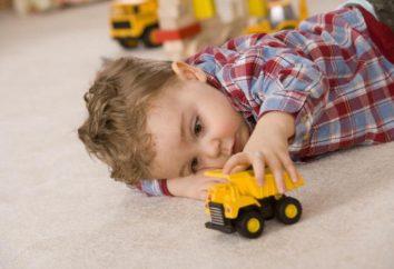 Różne transportu dla dzieci: wykaz, opis i cechy