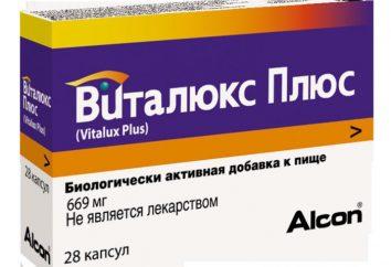 "Drug ""Vitalux Plus': effetto sul corpo"
