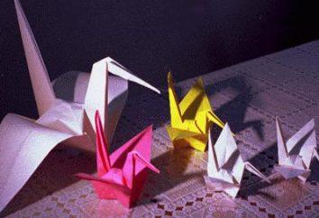Comment faire une grue de papier avec ses propres mains: guide étape par étape