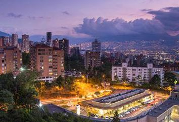 Colômbia, Medellin: vistas e foto
