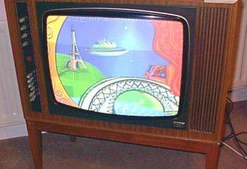 A primeira televisão a cores. Qual era o nome da primeira televisão a cores Soviética?
