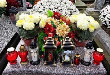 Kiedy usunięto wieńce na grobie po pogrzebie, zgodnie z kanonami Kościoła? Kiedy wznieść pomnik na pogrzeb?