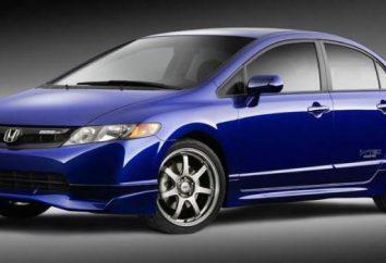 """""""Honda Civic"""" 2008: Przeglądy właścicieli, charakterystyki technicznej, zalety i wady"""