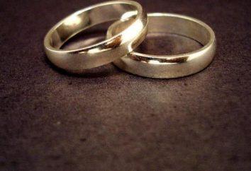 Was ist die Ehe: Definition des Familienrechts. Union