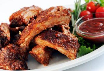 Cómo cocinar costillas de cerdo en el horno para una rápida y sabrosa?