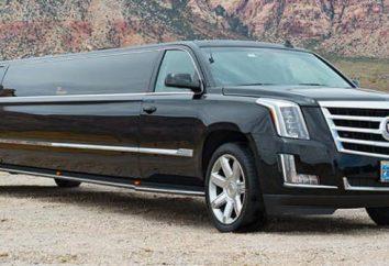 Limousine Cadillac: technische Spezifikationen, Beschreibungen und interessante Features