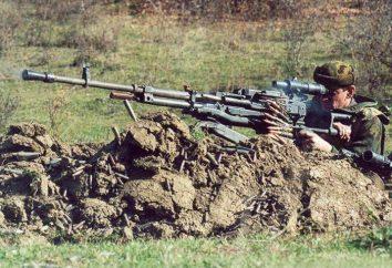 Schweres Maschinengewehr NSVT: Übersicht, Merkmale und Beschreibung