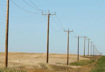 słupy elektryczne i ich instalacja