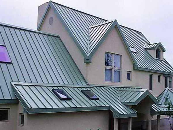 die montage der profilblech auf dem dach die kosten der. Black Bedroom Furniture Sets. Home Design Ideas