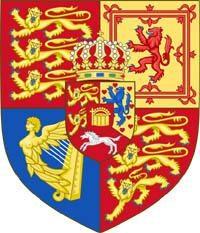 Inghilterra stemma. stemma medievale d'Inghilterra
