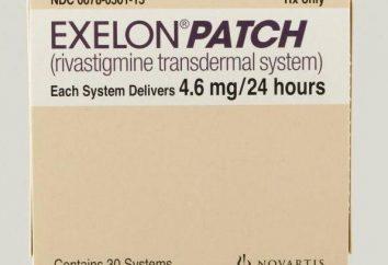 """""""Exelon"""" (patch): i prezzi, recensioni e istruzioni per l'uso"""