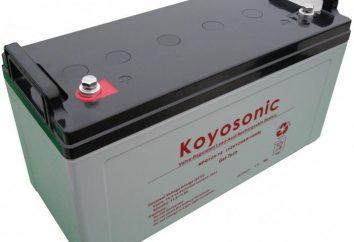 Bateria żel samochodowy: urządzenie i charakterystyka