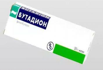 """""""fenylobutazon"""" (tabletki): instrukcję obsługi, analogi, cena i opinie"""